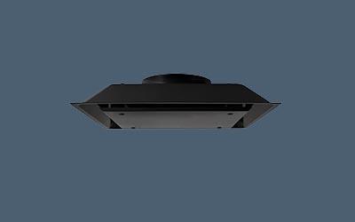 Black Filtered Air Return side view