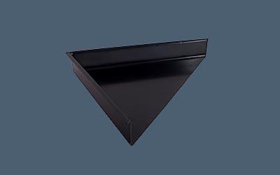 Corner Diverter in Black