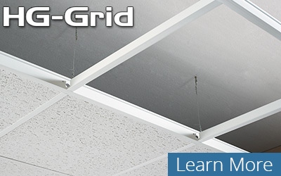 Hg Grid Installs Like Most Conventional Metal Systems Without The Extreme Cost Found With Corrosion Resistant Available In 23 Colors