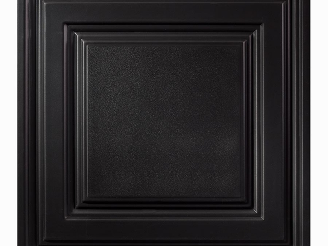 Icon Relief panel in black