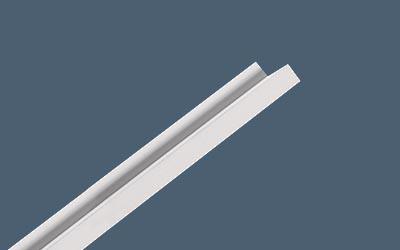 Revealed Edge-Border Trim Kit in White
