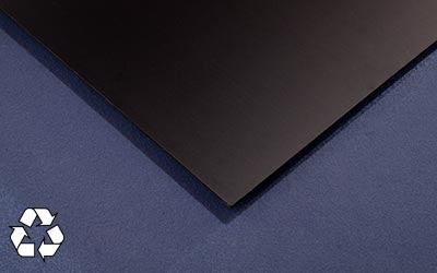 Recycled Smooth Pro Panel in Black